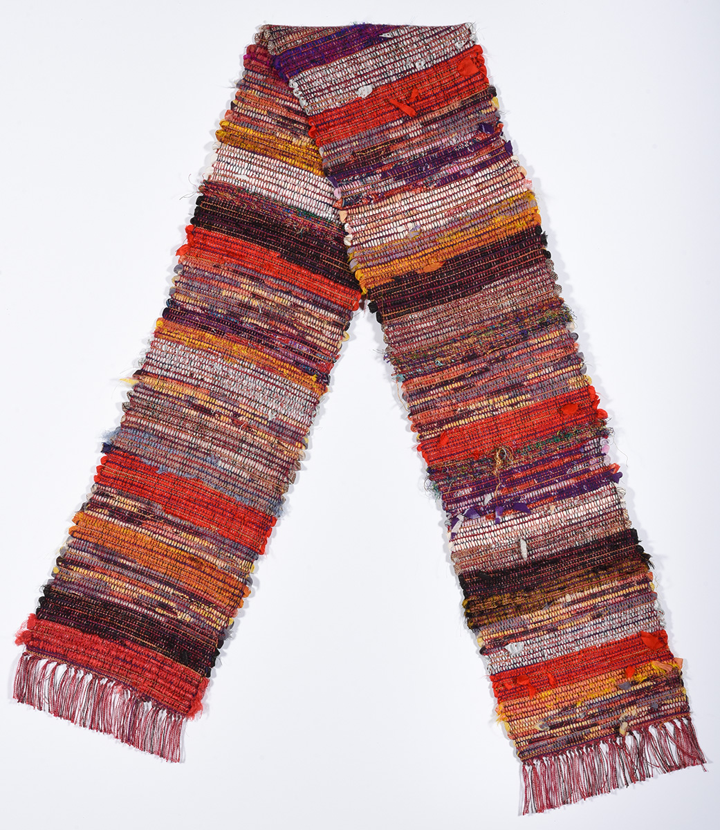 Sakiori Table Runner/Wearable Art © Susan Ball Faeder